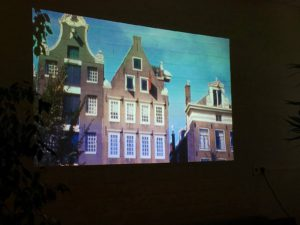 Dia van Amsterdams huis