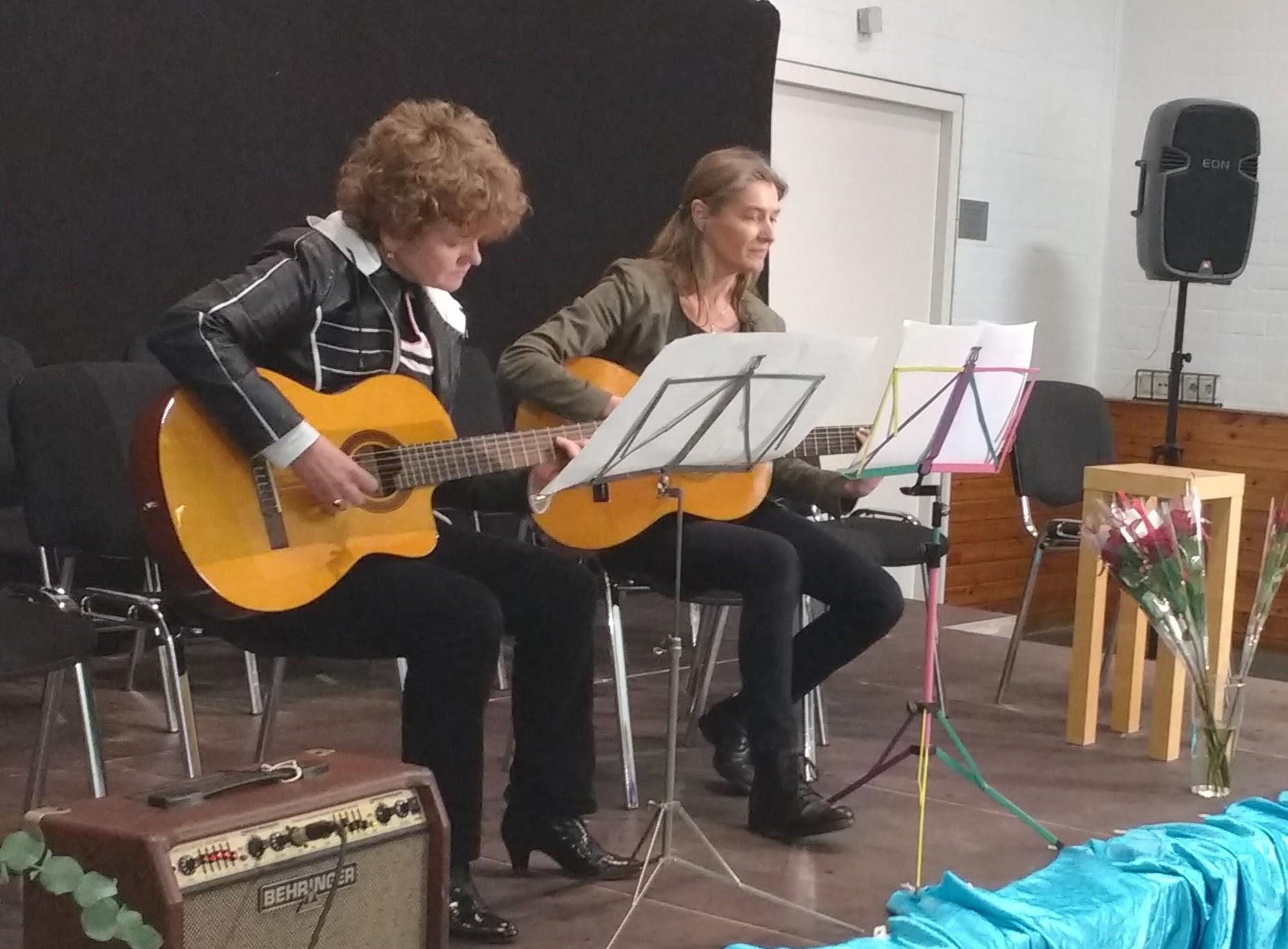 Mari-anne Hof met José Kooijman.