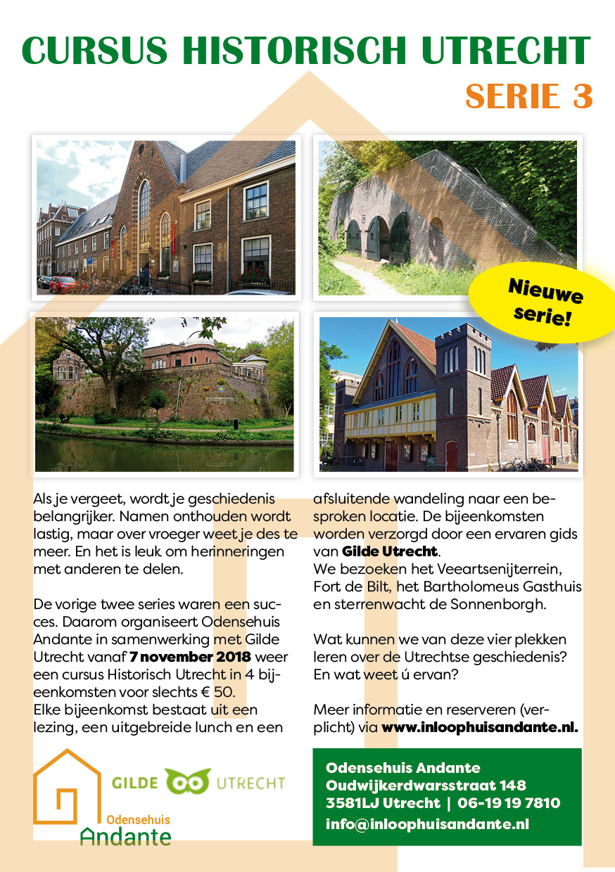 Flyer Historisch Utrecht