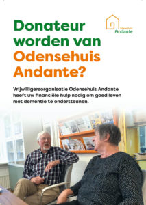 Donateur worden van Odensehuis Andante?
